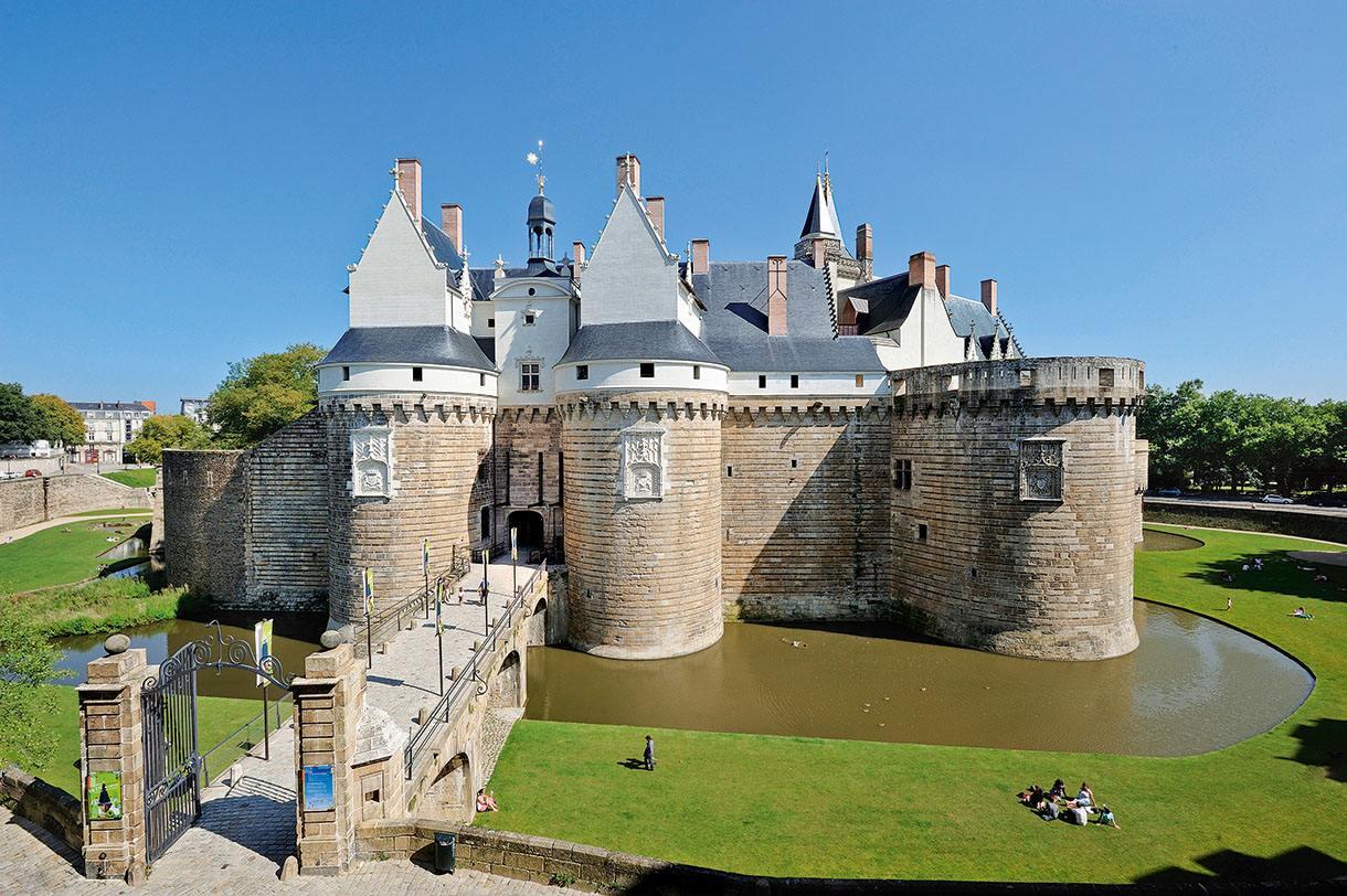 zámek v Nantes