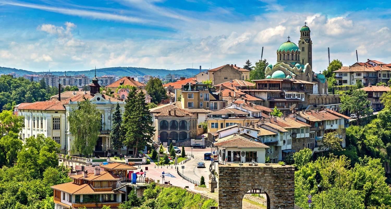 výhled na hlavní město Rumunska