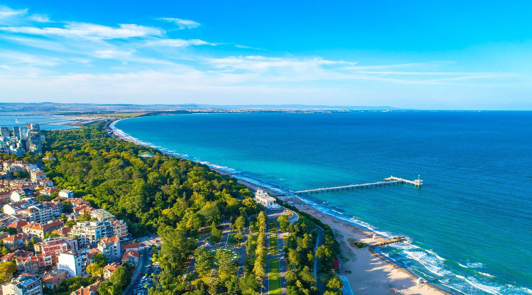 Burgas - pláž