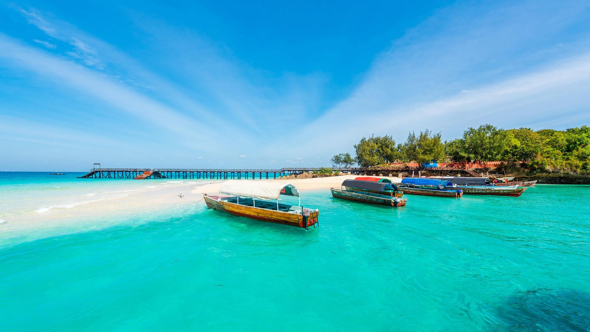výlety do okolí Zanzibaru - ostrov Prison