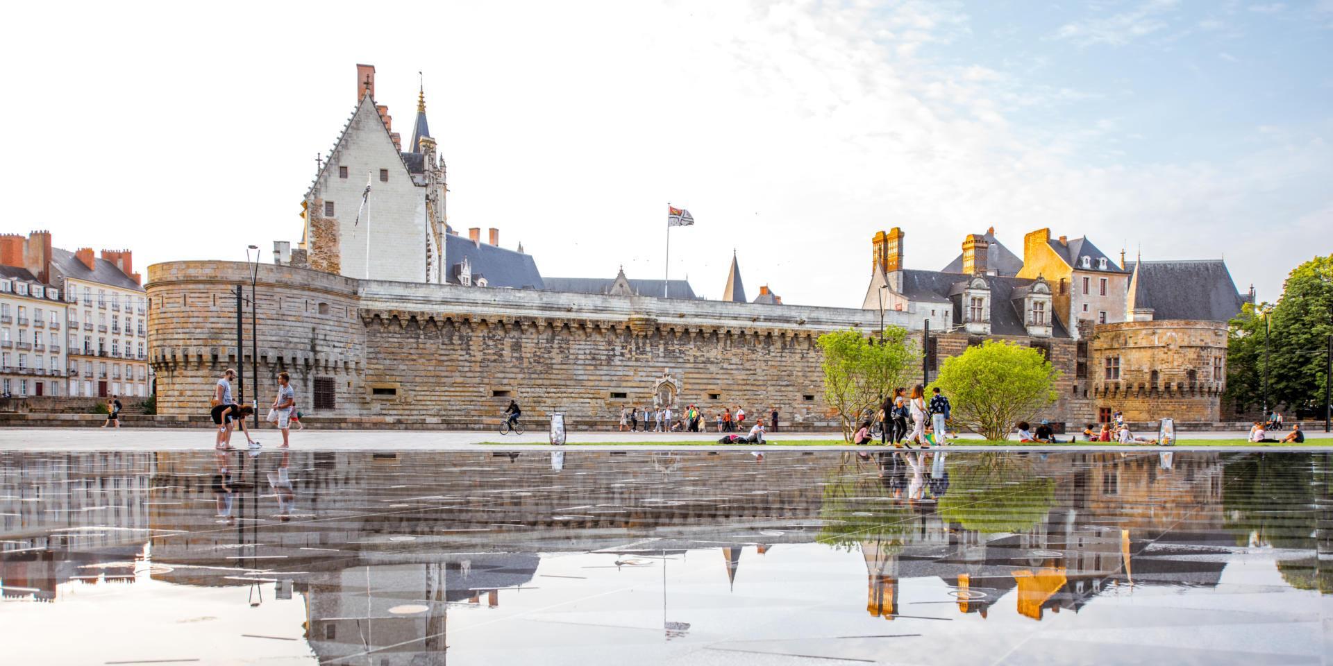Nantes pohled na opevnění