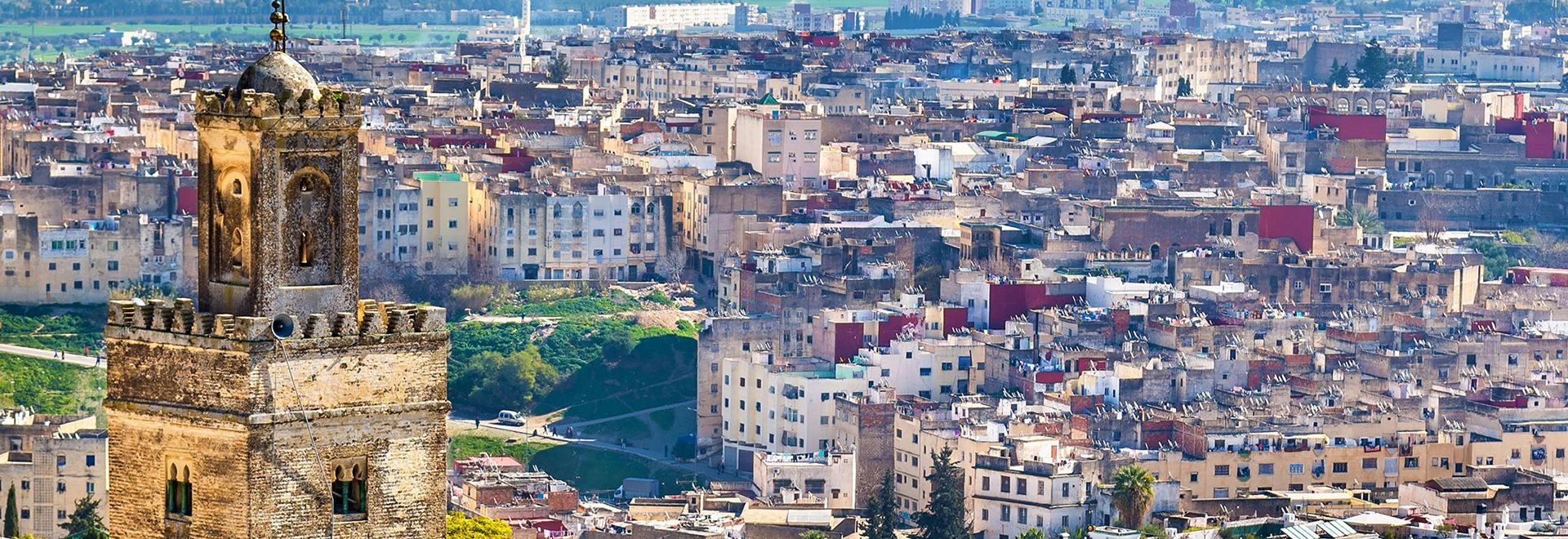 město v Maroku