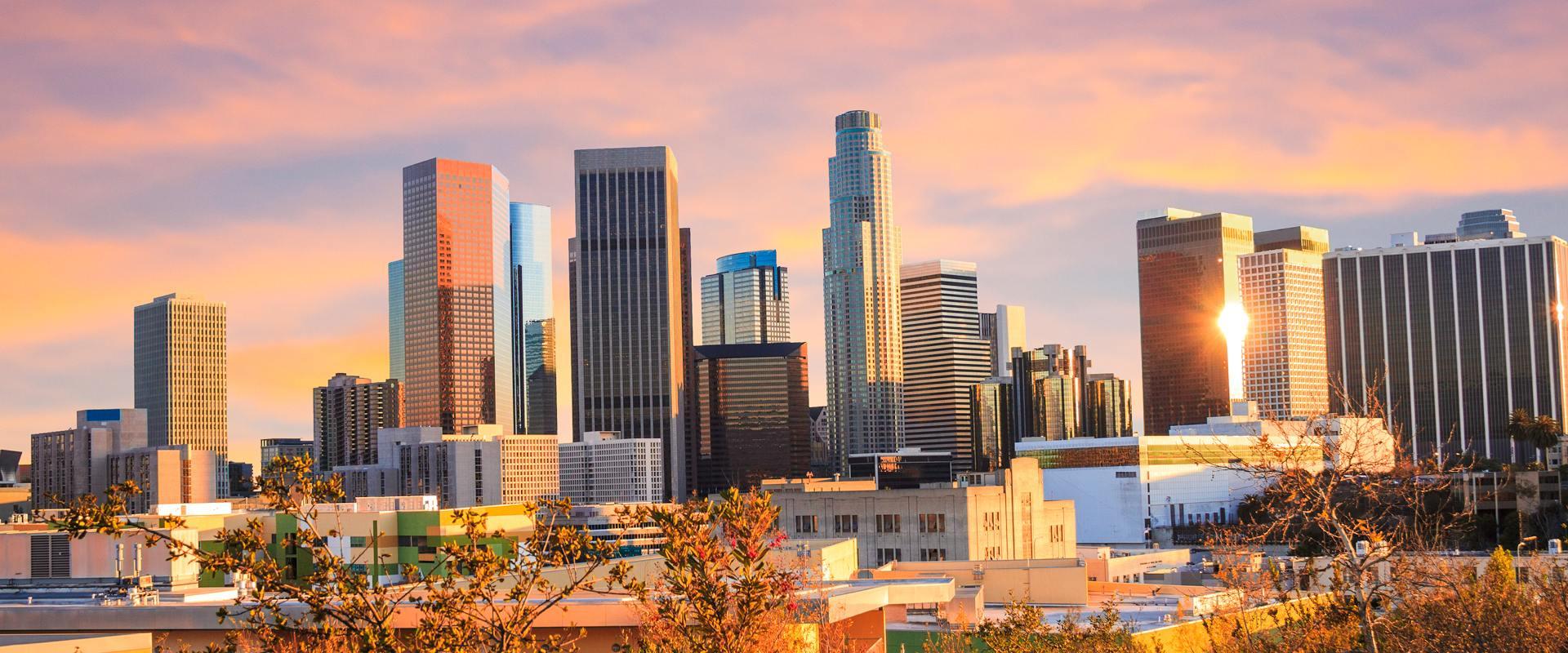mrakodrapy v Los Angeles