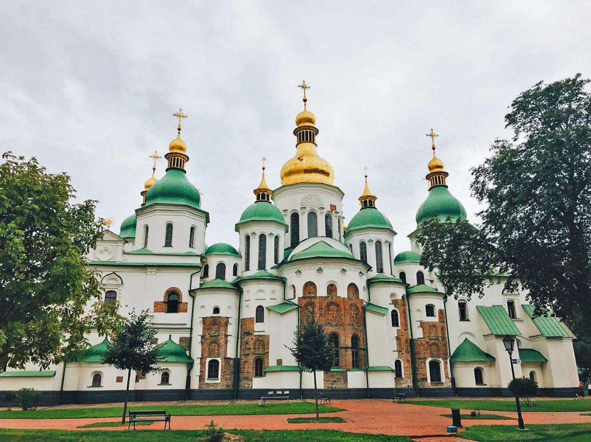 chrám žofie v Kyjevě
