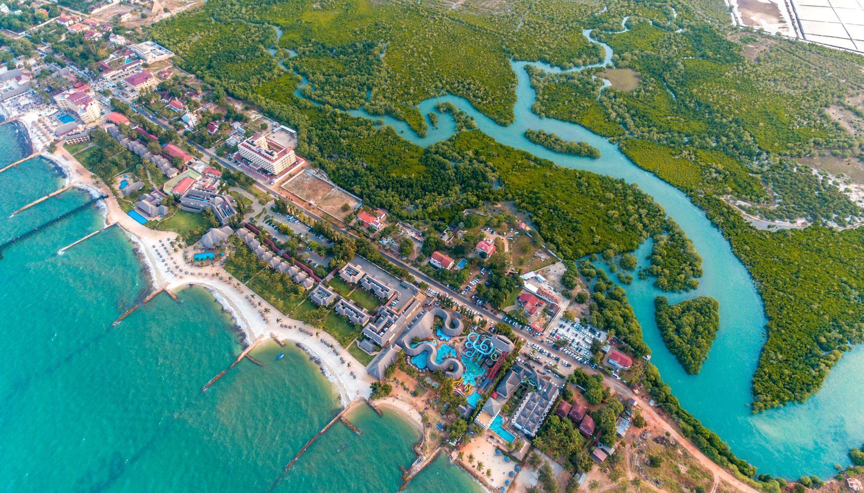 pohled na Dar es Salaam