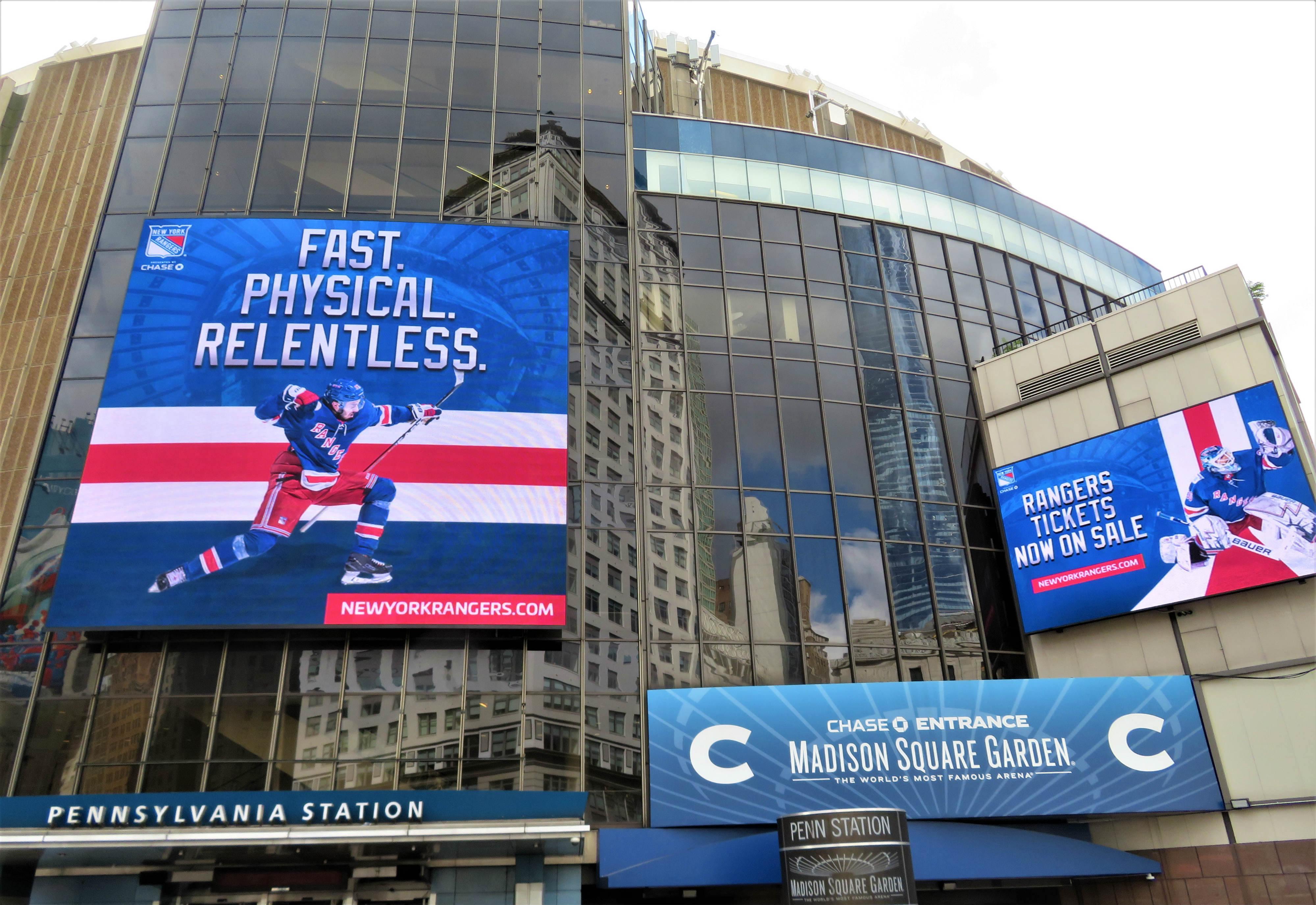 stadion Madison Square Garden v New Yorku