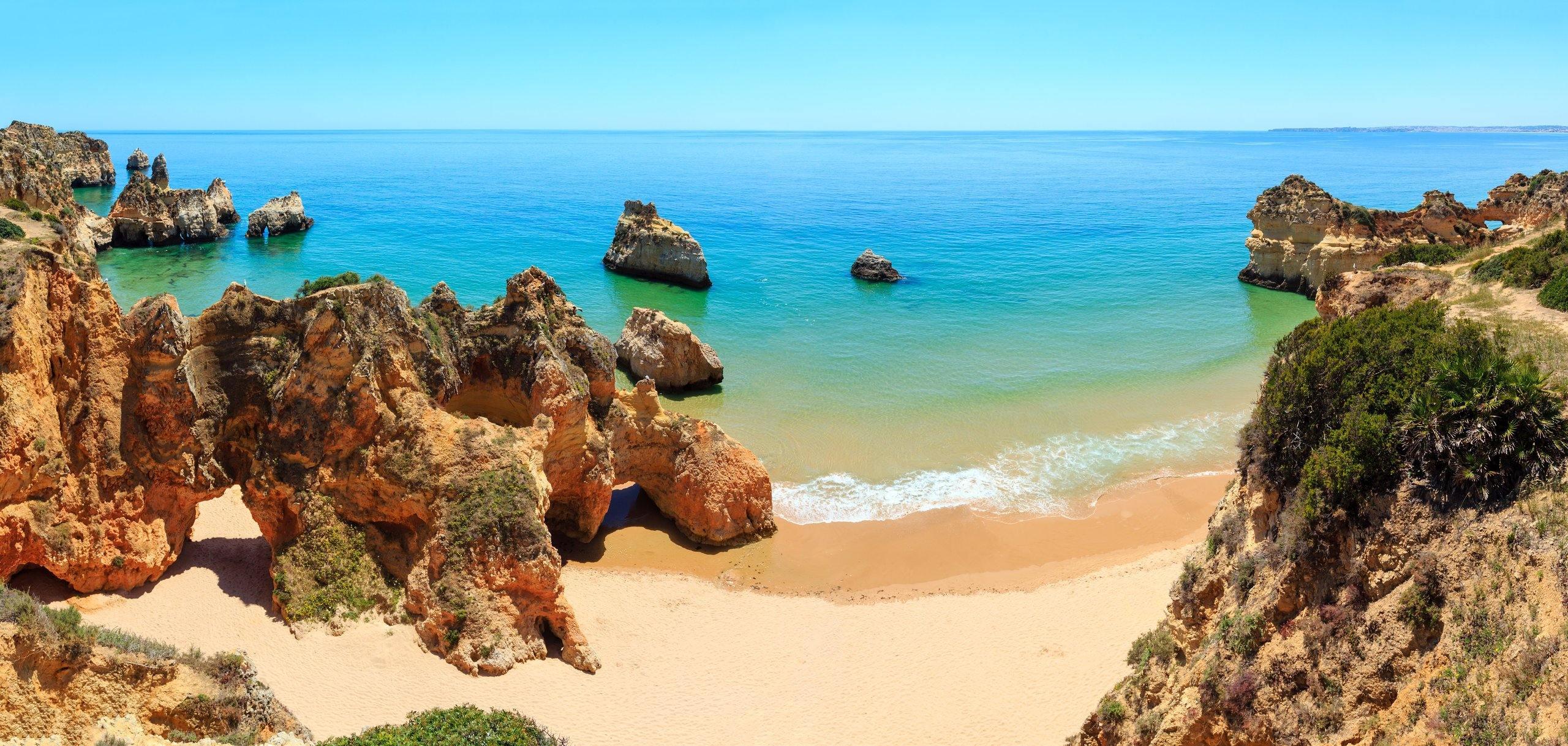 Algarve - pláž