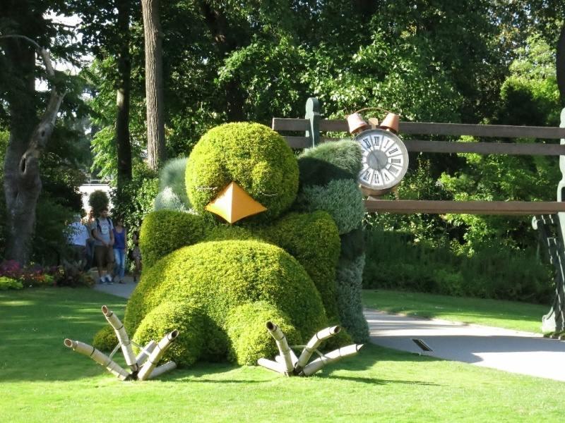 botanická zahrada v Nantes