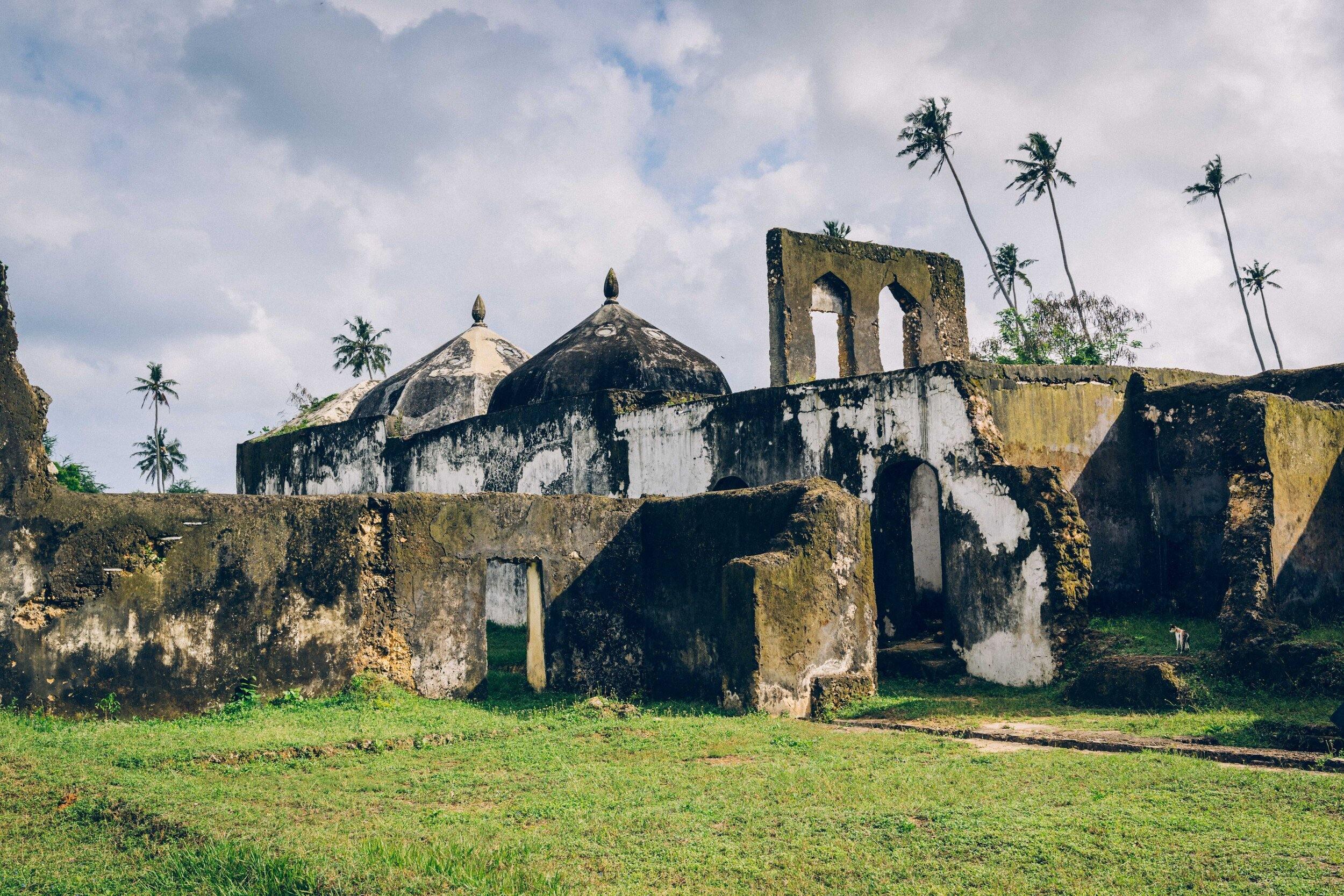 ruiny na Zanzibaru