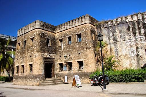 pevnost v centru města, Zanzibar