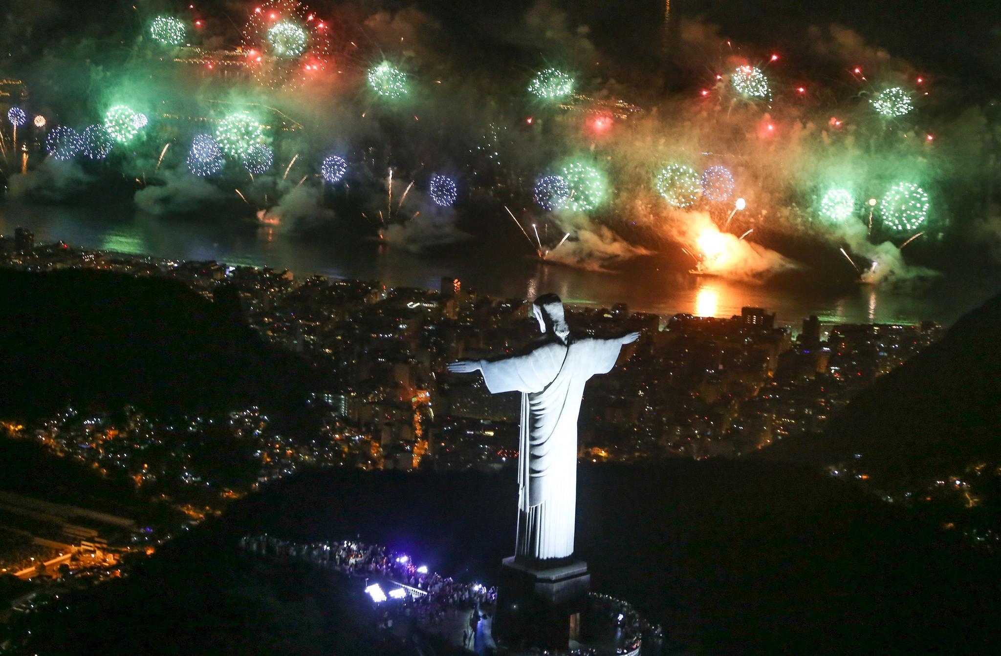 Silvestr v Brazílii