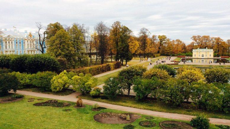 městský park v Kyjevě