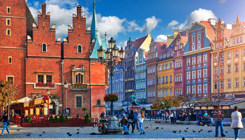 Wroclaw  - náměstí