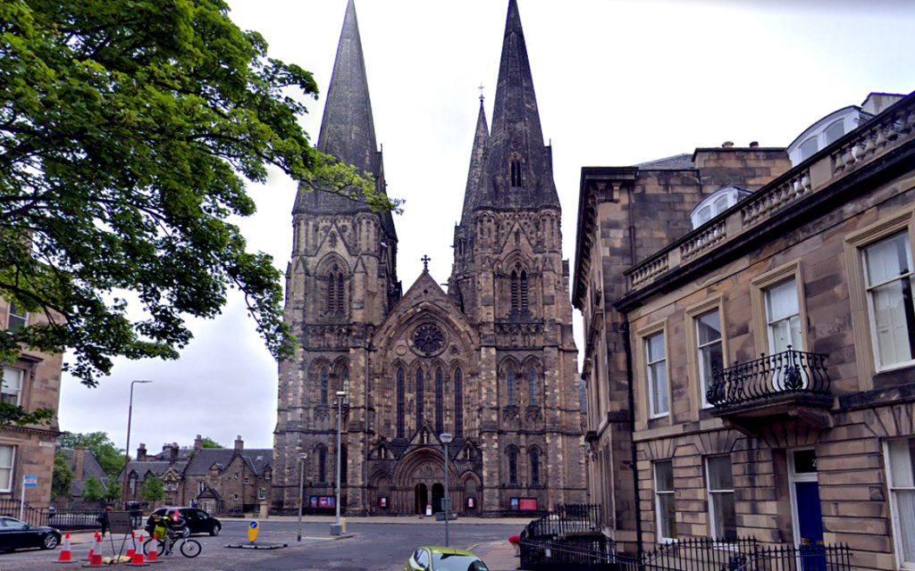 kostel ve Velké Británii