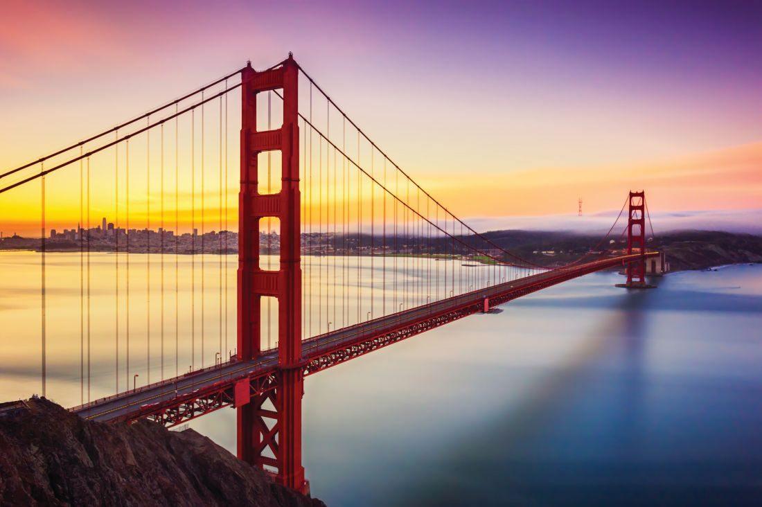 známý most v San Francisku