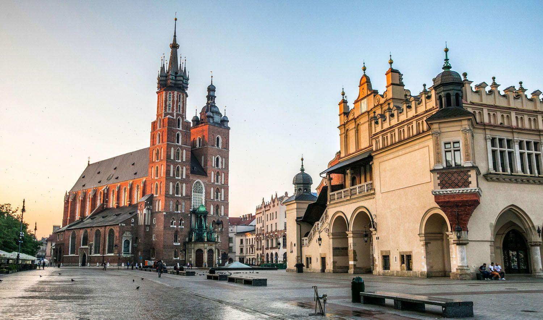 Krakow - náměstí