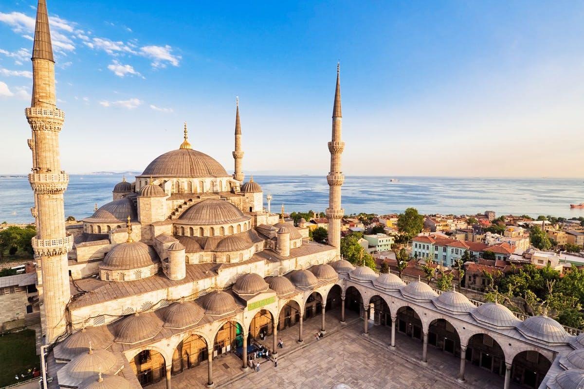 mešita v Istanbulu