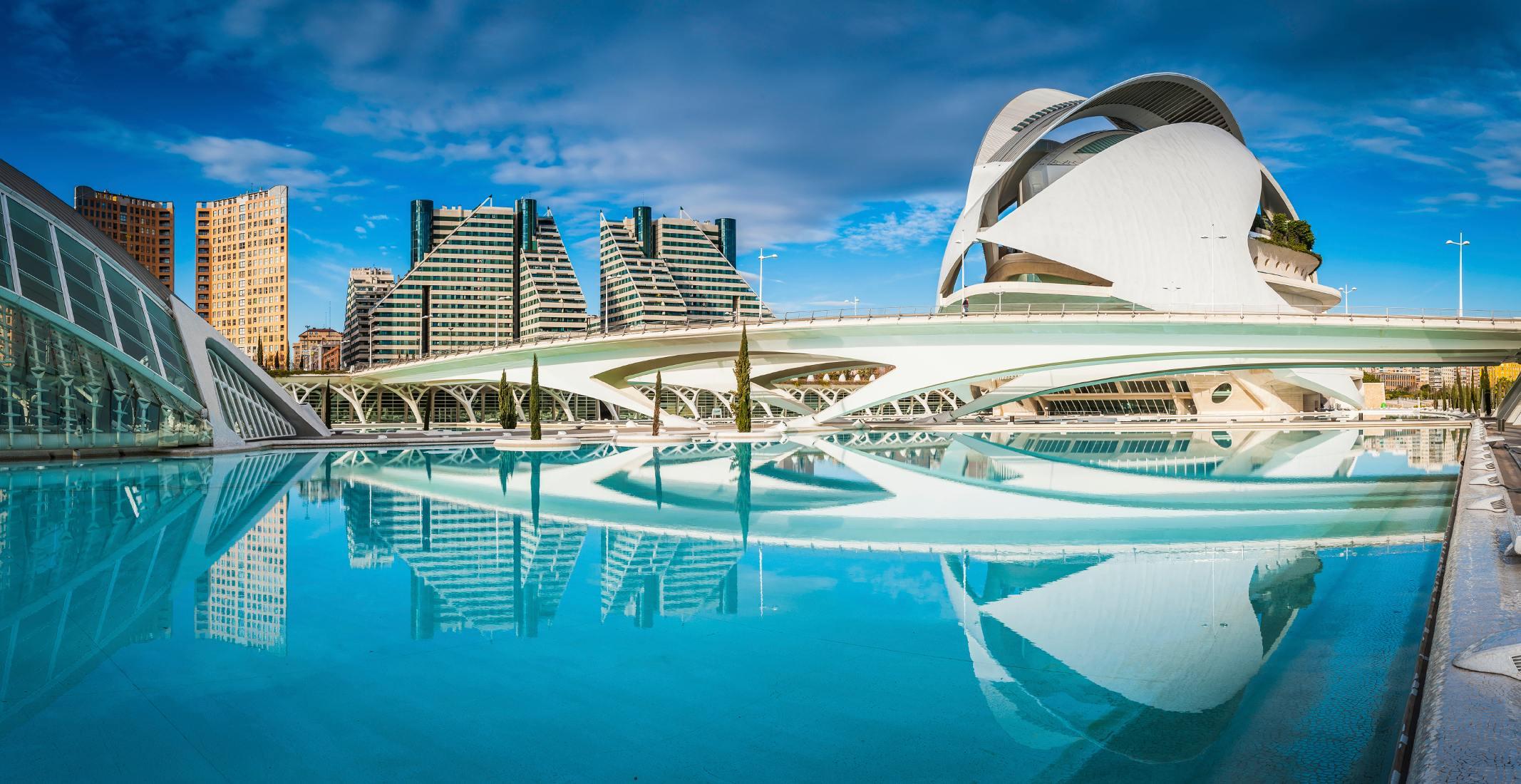 Valencie - město vědy a umění