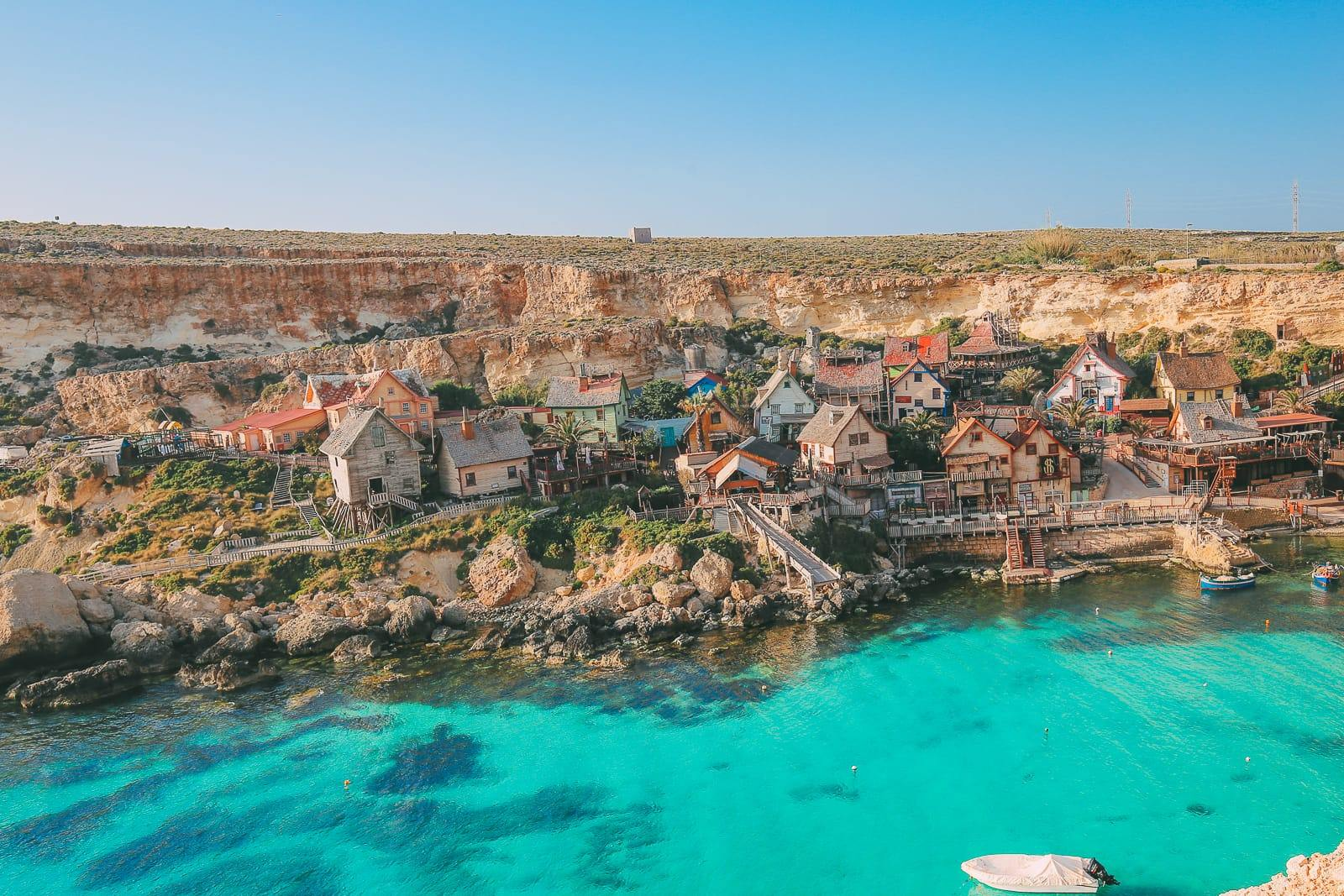 Malta - zátoka