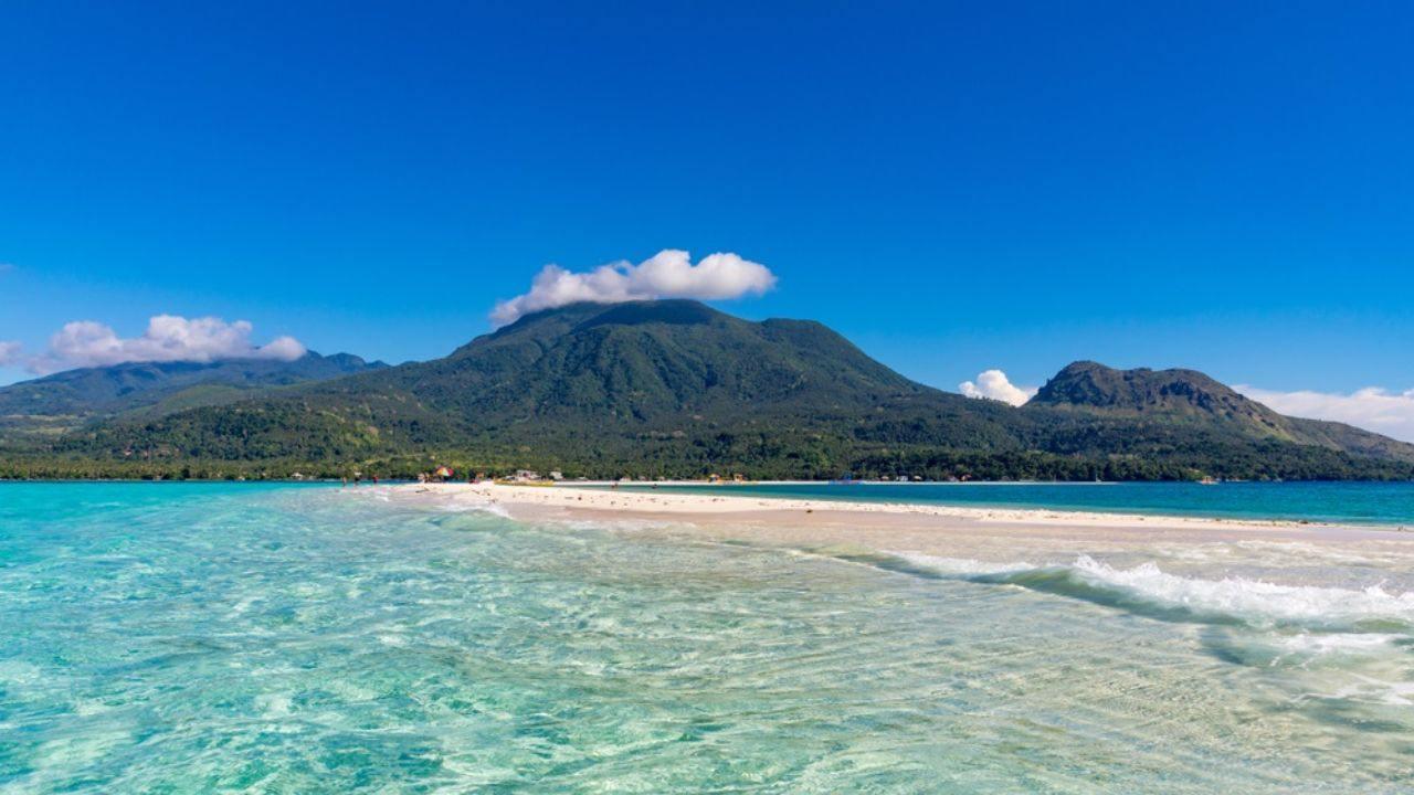 ostrov na Filipínách