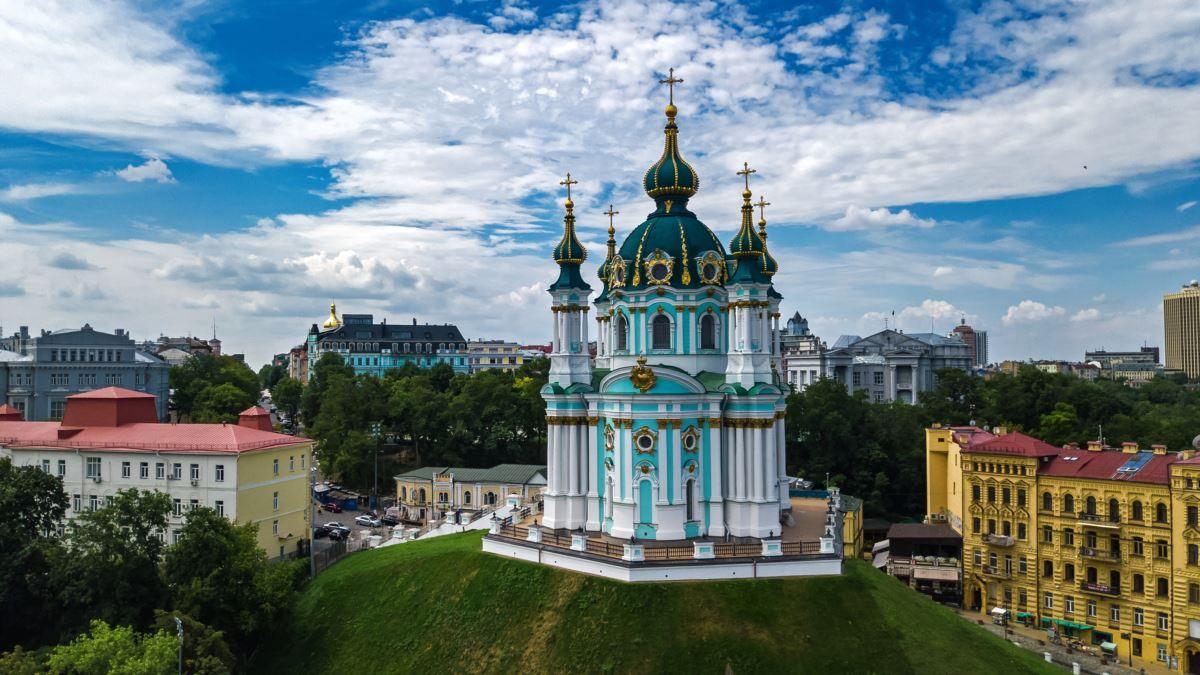 klášter v Kyjevě