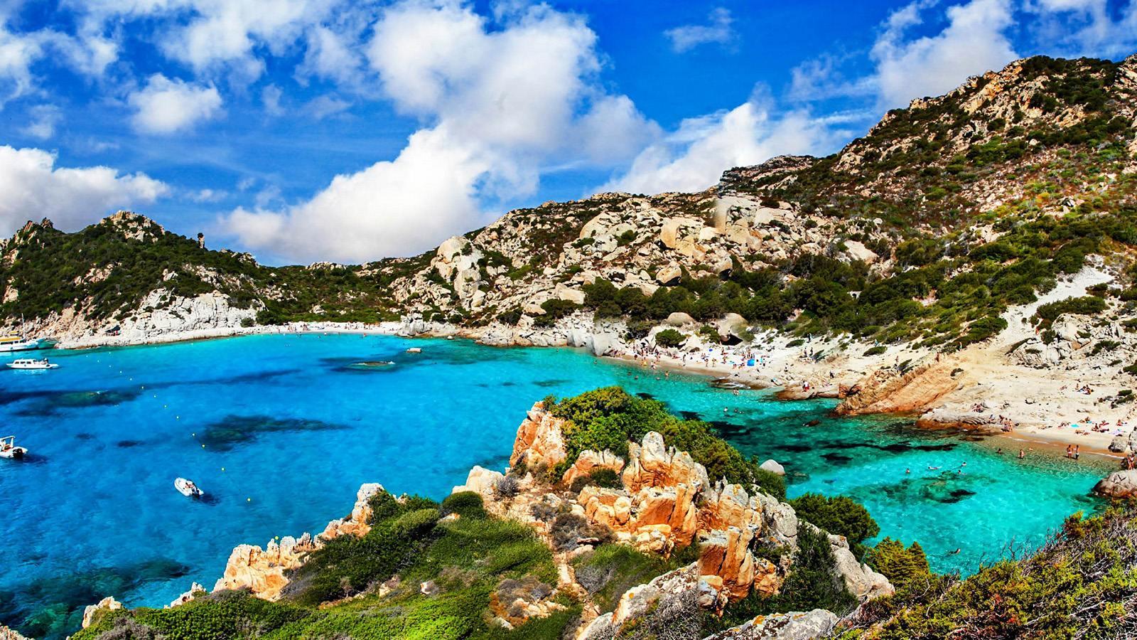 Sardinie - moře